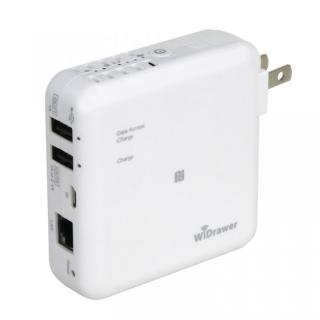 Wi-Fi USBリーダー スマホ・タブレット充電機能付