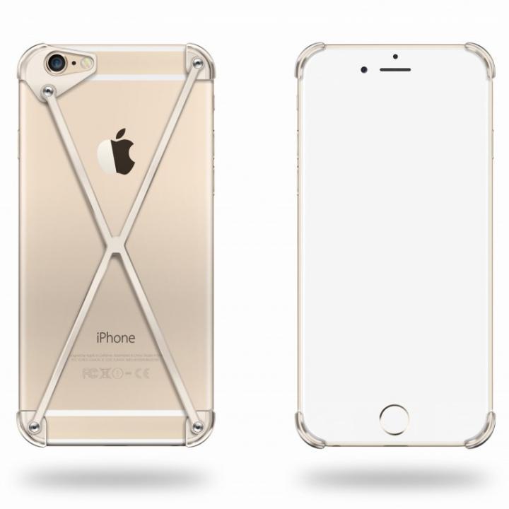 端末の美しさを活かす RADIUS case ゴールド iPhone 6ケース
