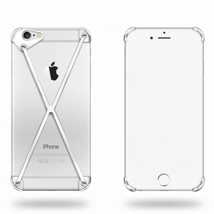 iPhone6 ケース 端末の美しさを活かす RADIUS case シルバー iPhone 6ケース_0