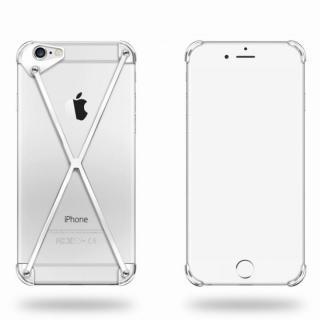 端末の美しさを活かす RADIUS case シルバー iPhone 6ケース