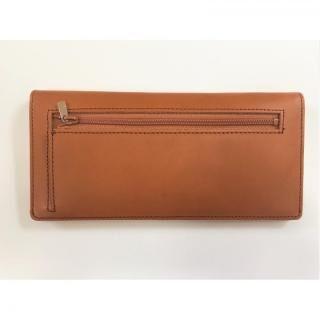 カードを30枚入れても薄い長財布(小銭入れ付)BT02 キャメル【10月下旬】