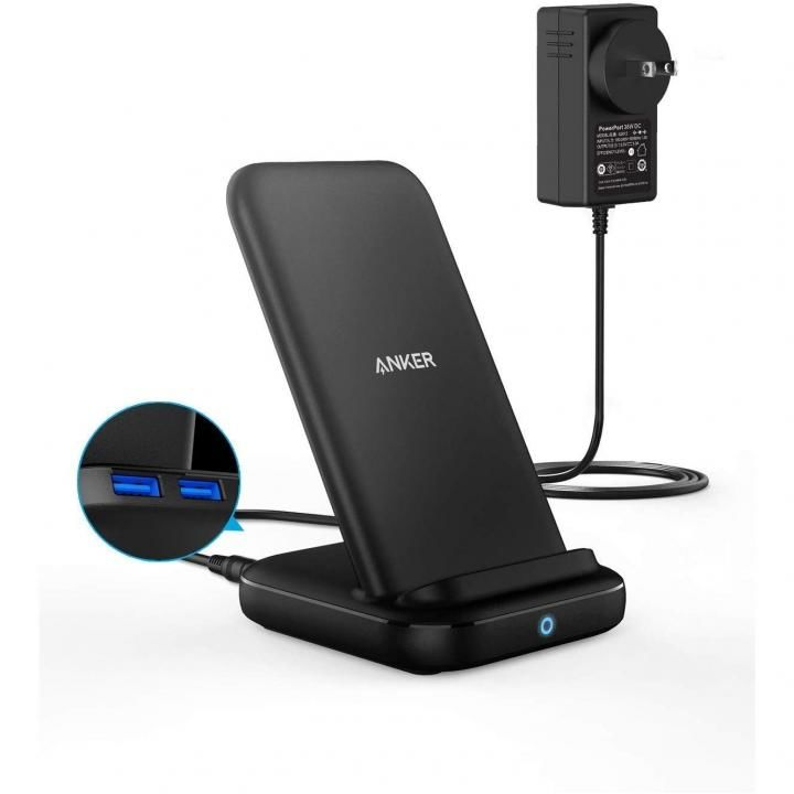 Anker PowerWave 10 Stand with 2 USB-A Ports【5月下旬】_0