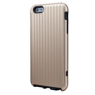ICカード対応 2重構造ケース PRECISION ゴールド iPhone 6 Plusケース