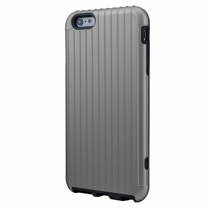 【iPhone6 Plusケース】ICカード対応 2重構造ケース PRECISION シルバー iPhone 6 Plusケース_0