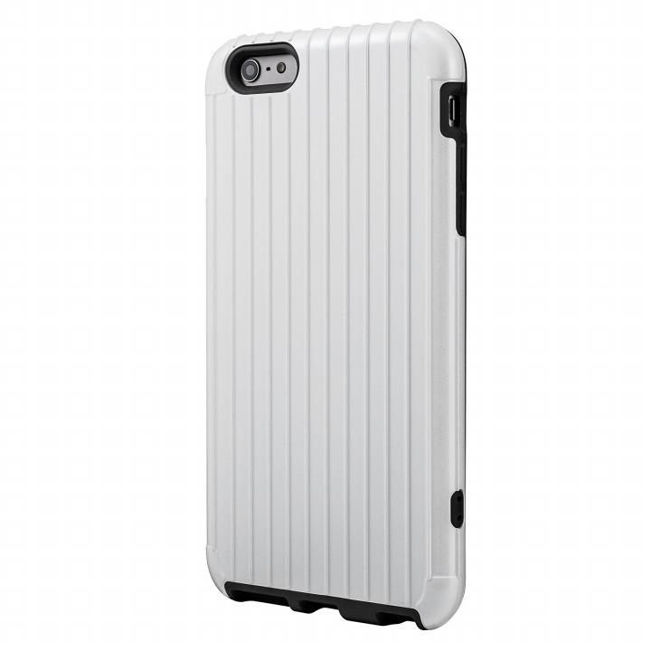 【iPhone6 Plusケース】ICカード対応 2重構造ケース PRECISION ホワイト iPhone 6 Plusケース_0