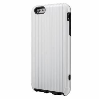 ICカード対応 2重構造ケース PRECISION ホワイト iPhone 6 Plusケース