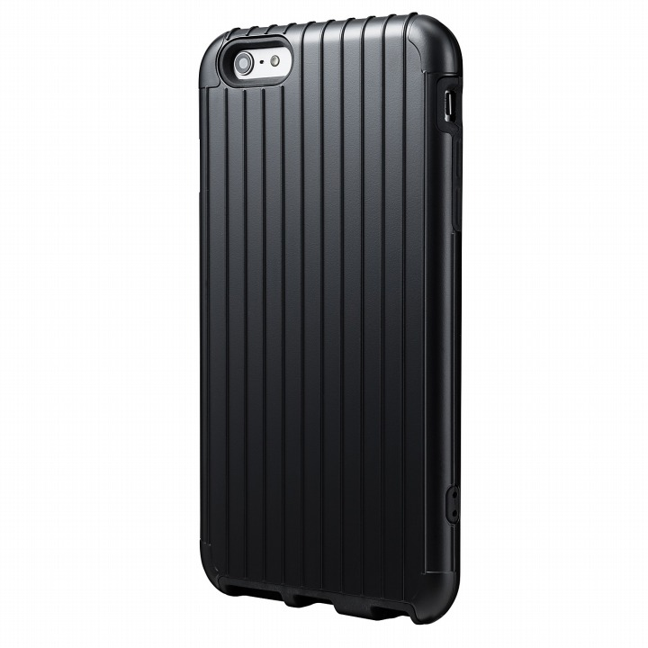 ICカード対応 2重構造ケース PRECISION ブラック iPhone 6 Plusケース