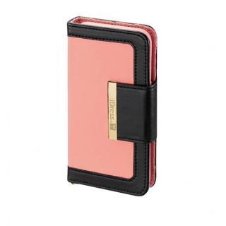 【iPhone6ケース】Girls 手帳型ケース ピンク×ブラック iPhone 6ケース_3
