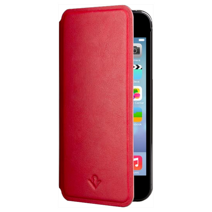 iPhone SE/5s/5 ケース Twelve South SurfacePad レッド iPhone SE/5s/5c/5ケース_0