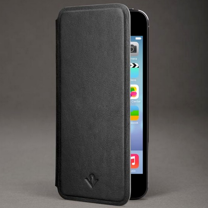 iPhone SE/5s/5 ケース Twelve South SurfacePad ブラック iPhone SE/5s/5c/5ケース_0