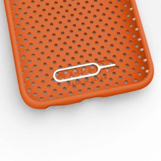 【iPhone6s/6ケース】エラストマー AndMesh MESH CASE オレンジ iPhone 6s/6ケース_2