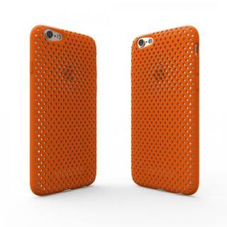 【iPhone6s/6ケース】エラストマー AndMesh MESH CASE オレンジ iPhone 6s/6ケース_3
