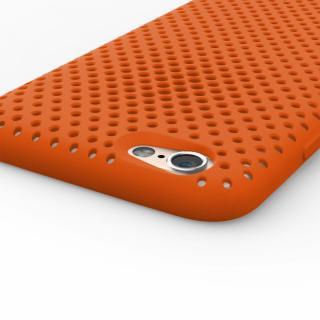 【iPhone6s/6ケース】エラストマー AndMesh MESH CASE オレンジ iPhone 6s/6ケース_4