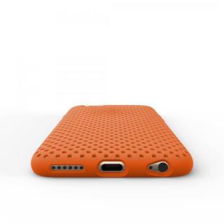 【iPhone6s/6ケース】エラストマー AndMesh MESH CASE オレンジ iPhone 6s/6ケース_6