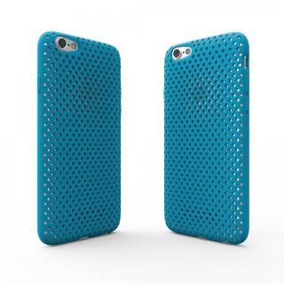 【iPhone6s/6ケース】エラストマー AndMesh MESH CASE ターコイズ iPhone 6s/6ケース_3