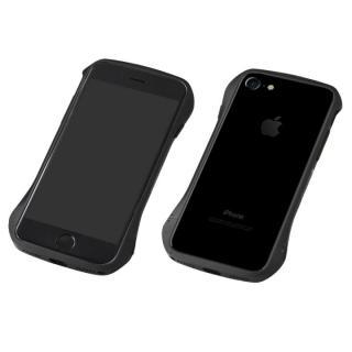 iPhone8 Plus/7 Plus ケース Deff Cleave アルミバンパー ブラック/ブラック iPhone 8 Plus/7 Plus