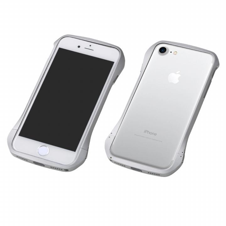 iPhone8 Plus/7 Plus ケース Deff Cleave アルミバンパー シルバー/シルバー iPhone 8 Plus/7 Plus_0