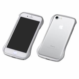 Deff Cleave アルミバンパー マルチカラータイプ シルバー/シルバー iPhone 7 Plus