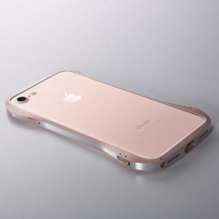 【iPhone8 Plus/7 Plusケース】Deff Cleave アルミバンパー ローズゴールド/シルバー iPhone 8 Plus/7 Plus_1