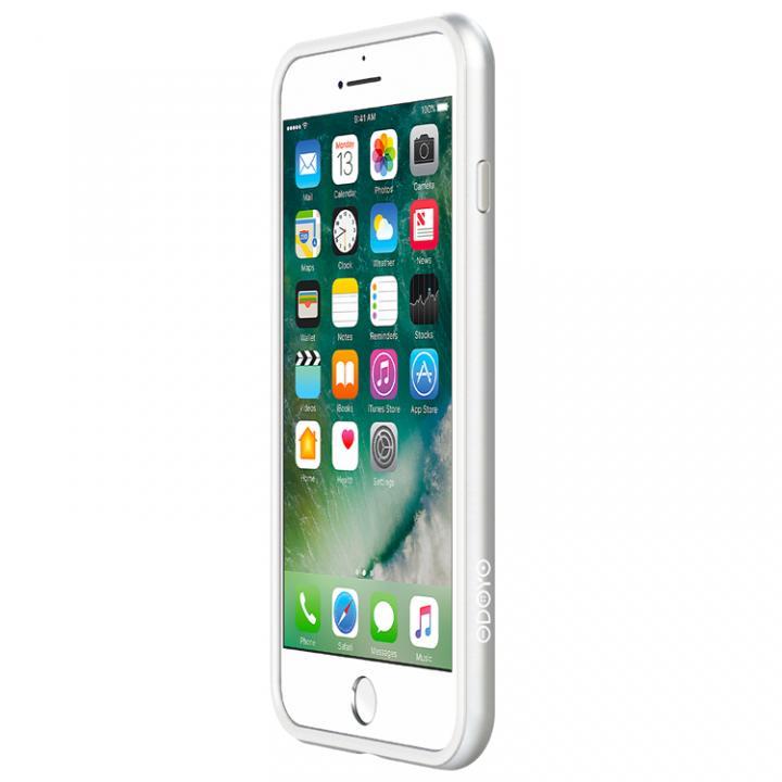 【iPhone7 Plusケース】工具不要 かんたん着脱バンパー Blade Edge シルバー iPhone 7 Plus_0