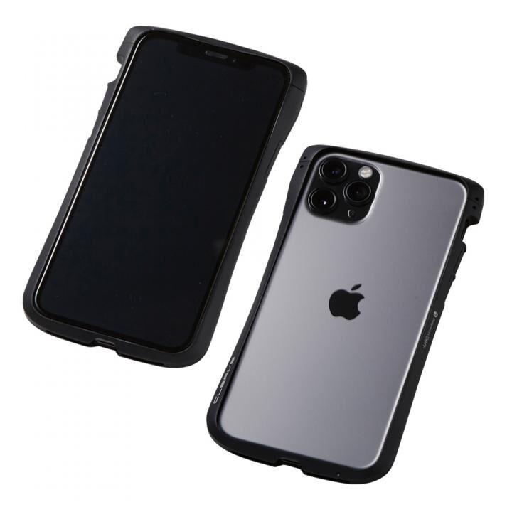 iPhone 11 Pro/XS ケース CLEAVE Aluminum Bumper アルミバンパー ブラック iPhone 11 Pro/XS/X_0