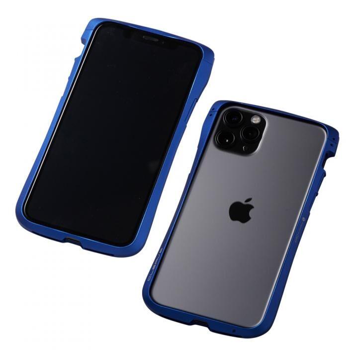 iPhone 11 Pro/XS ケース CLEAVE Aluminum Bumper アルミバンパー ブルー iPhone 11 Pro/XS/X_0