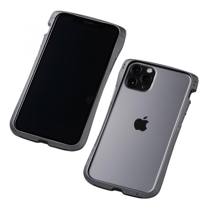 iPhone 11 Pro/XS ケース CLEAVE Aluminum Bumper アルミバンパー グラファイト iPhone 11 Pro/XS/X_0