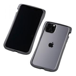 iPhone 11 Pro/XS ケース CLEAVE Aluminum Bumper アルミバンパー グラファイト iPhone 11 Pro/XS/X