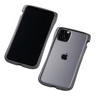 iPhone 11 Pro/XS ケース CLEAVE Alumium Bumper アルミバンパー グラファイト iPhone 11 Pro/XS/X【10月下旬】