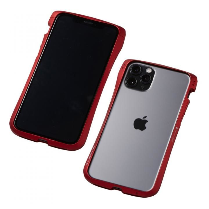 iPhone 11 Pro/XS ケース CLEAVE Aluminum Bumper アルミバンパー レッド iPhone 11 Pro/XS/X_0
