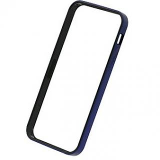 フラットバンパーセット  iPhone SE/5s/5(メタリックブルー)