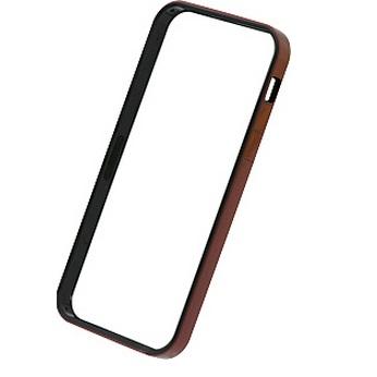 iPhone SE/5s/5 ケース フラットバンパーセット  iPhone SE/5s/5(メタリックレッド)_0