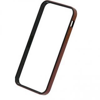 [2017夏フェス特価]フラットバンパーセット  iPhone SE/5s/5(メタリックレッド)