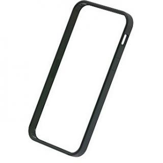 【iPhone SE/5s/5ケース】フラットバンパーセット  iPhone SE/5s/5(ブラック)