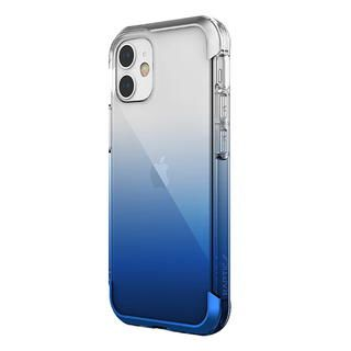 iPhone 12 mini (5.4インチ) ケース RAPTIC Air  iPhoneケース Blue Gradient iPhone 12 mini