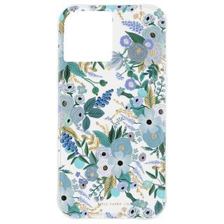 iPhone 12 / iPhone 12 Pro (6.1インチ) ケース Rifle Paper Co. 抗菌・3.0m落下耐衝撃ケース Garden Party Blue iPhone 12/iPhone 12 Pro