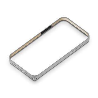 iPhone 12 / iPhone 12 Pro (6.1インチ) ケース アルミニウムバンパー シルバー iPhone 12/iPhone 12 Pro