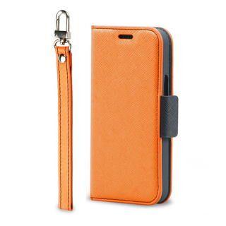 iPhone 12 mini (5.4インチ) ケース Corallo NU  iPhoneケース Orange+Black iPhone 12 mini【11月上旬】
