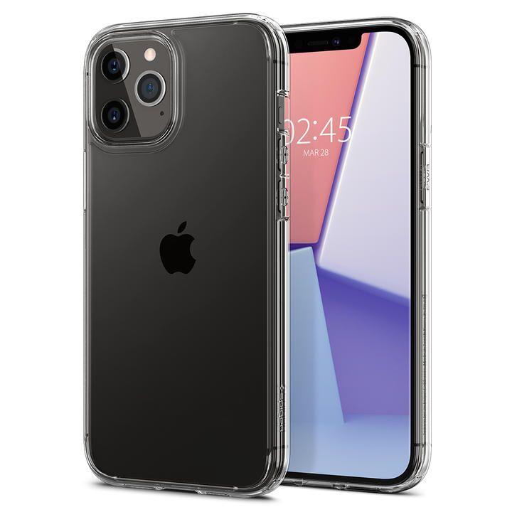 Spigen Crystal Hybrid Crystal Clear iPhone 12 Pro Max_0