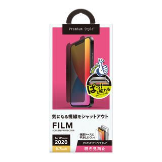 iPhone 12 Pro Max (6.7インチ) フィルム 貼り付けキット付き 液晶保護フィルム 覗き見防止 iPhone 12 Pro Max