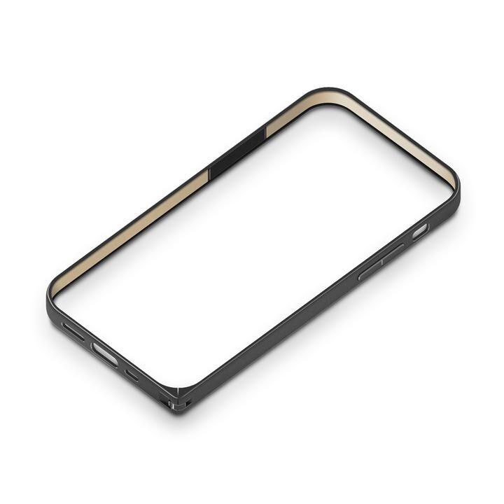 アルミニウムバンパー ブラック iPhone 12/iPhone 12 Pro_0