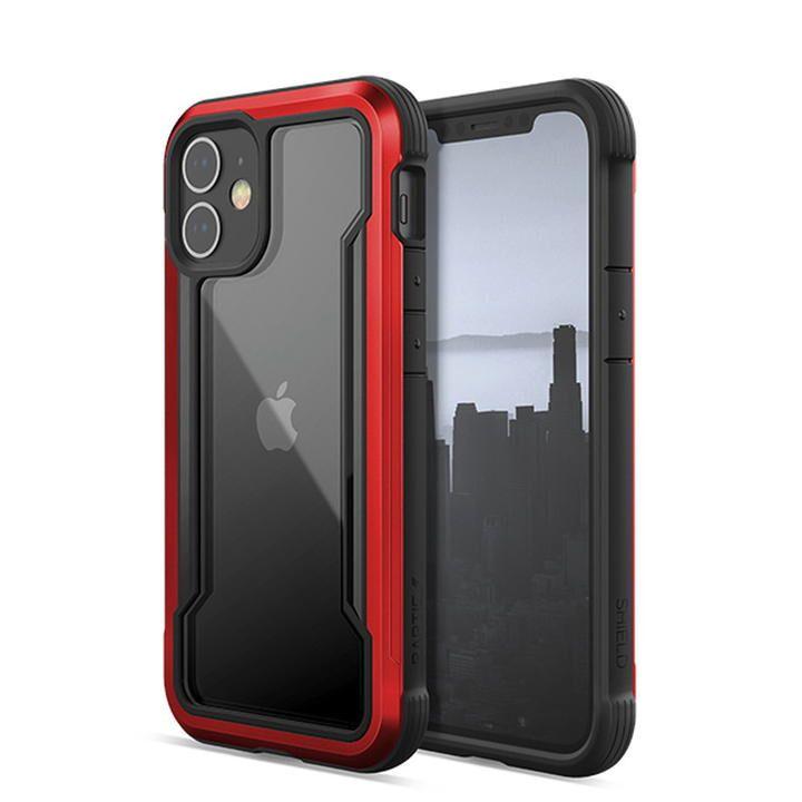 RAPTIC Shield  iPhoneケース Red iPhone 12 mini_0