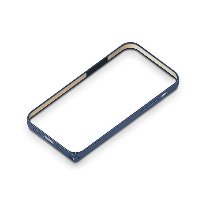 アルミニウムバンパー ネイビー iPhone 12 mini_0
