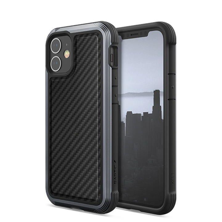 RAPTIC Lux  iPhoneケース Black Carbon iPhone 12 mini_0