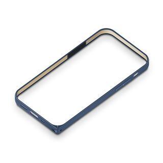 iPhone 12 / iPhone 12 Pro (6.1インチ) ケース アルミニウムバンパー ネイビー iPhone 12/iPhone 12 Pro
