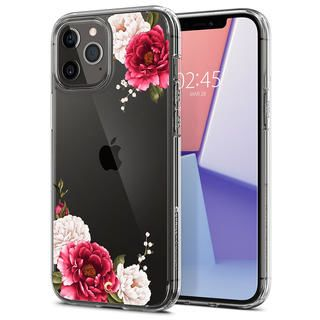 iPhone 12 Pro Max (6.7インチ) ケース Spigen Cecile Red Floral iPhone 12 Pro Max
