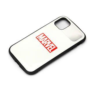 iPhone 12 Pro Max (6.7インチ) ケース ハイブリッドタフケース ロゴ/ホワイト iPhone 12 Pro Max