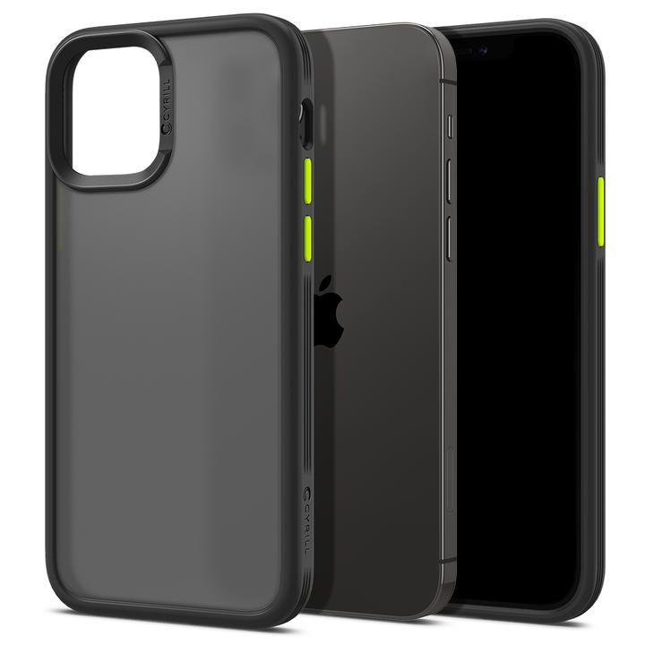Spigen ColorBrick Black iPhone 12/iPhone 12 Pro_0