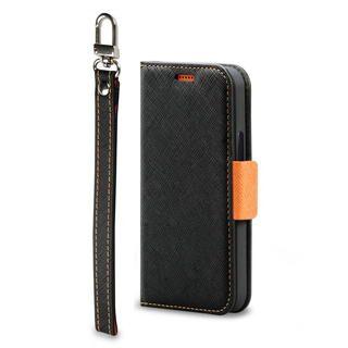 iPhone 12 mini (5.4インチ) ケース Corallo NU  iPhoneケース Black+Orange iPhone 12 mini