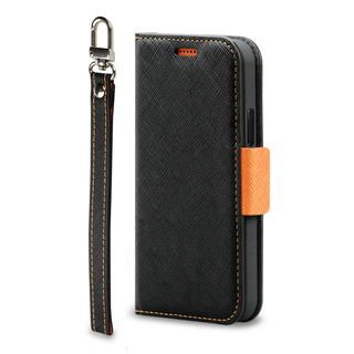 iPhone 12 / iPhone 12 Pro (6.1インチ) ケース Corallo NU  iPhoneケース Black+Orange iPhone 12/iPhone 12 Pro